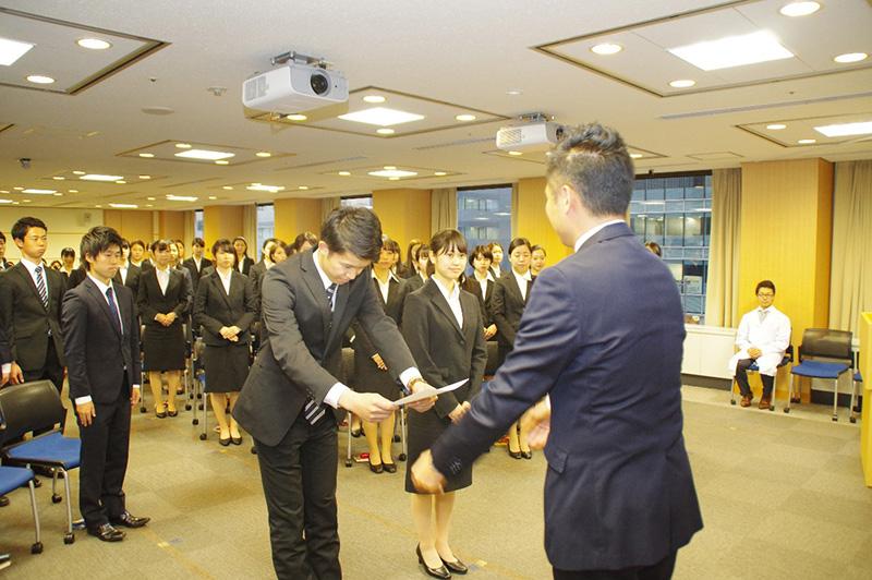 2019年度綜合キャリアグループ ★内定式開催レポート!★